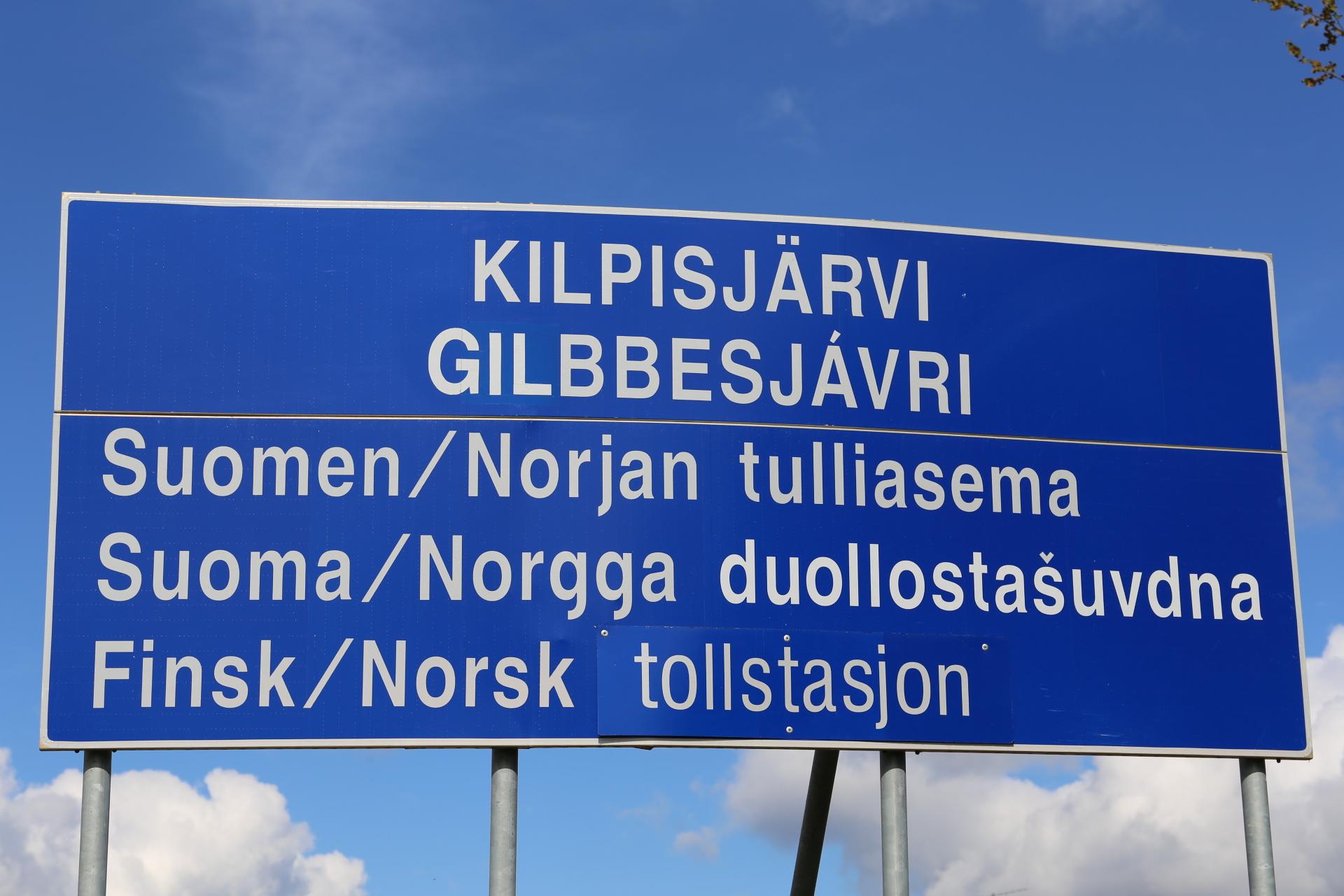 Gränsen mellan Norge och Finland