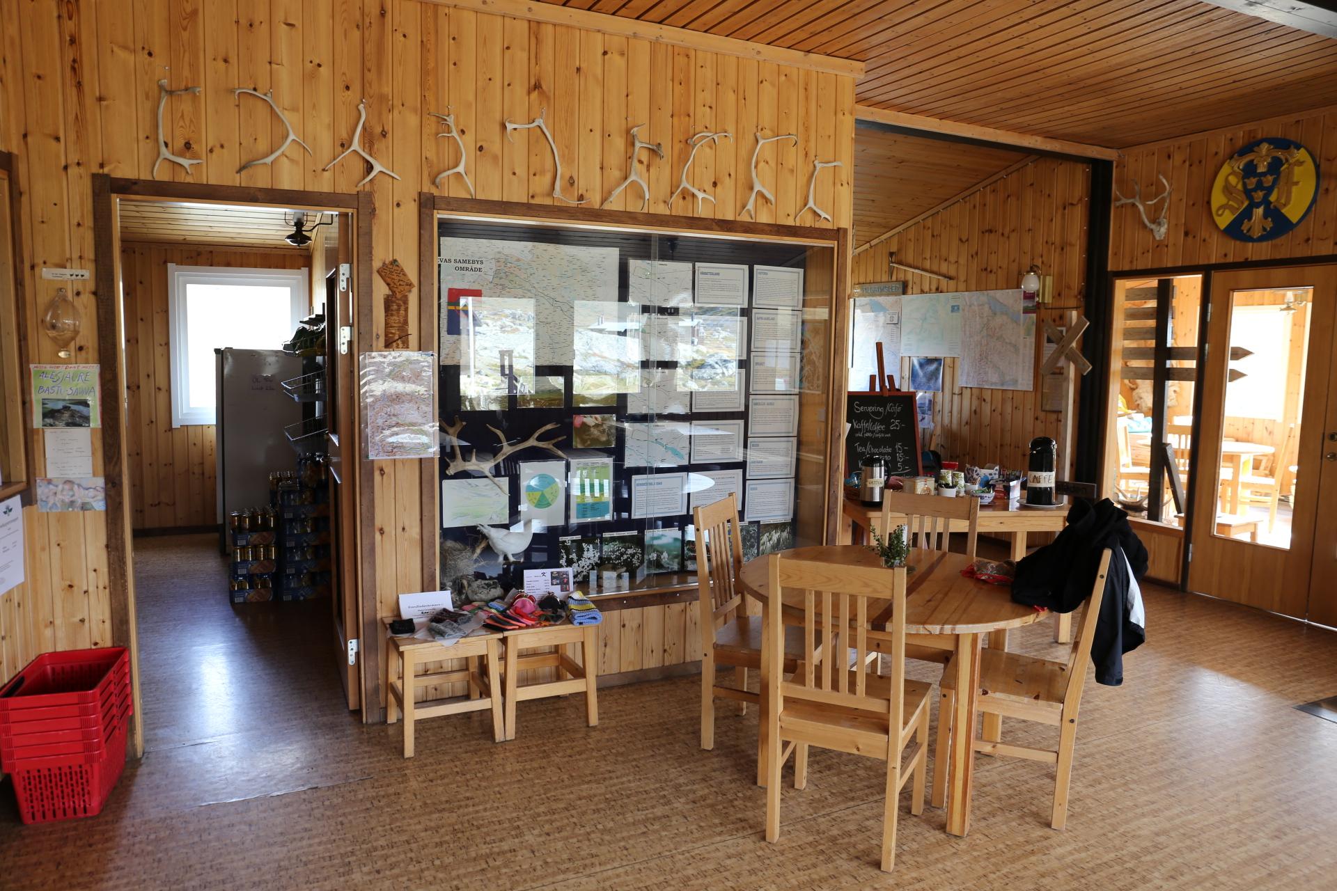 Caféet i Alesjauristugan