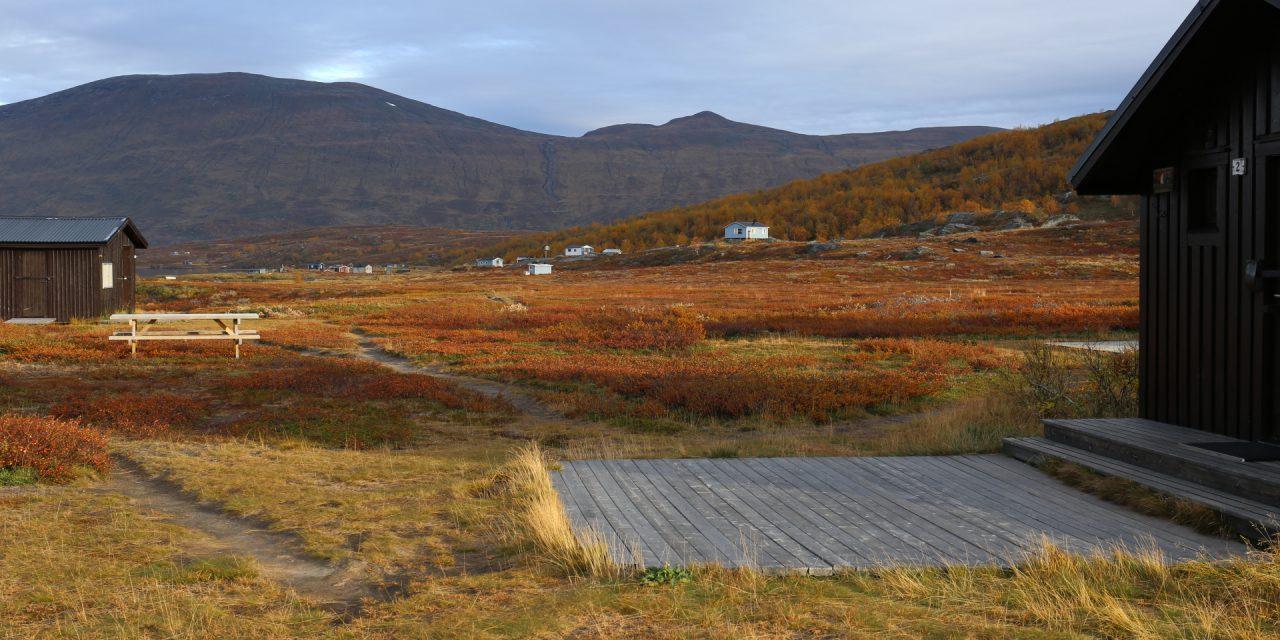 Dag 30: En lång vandring till Konsul Perssons stuga