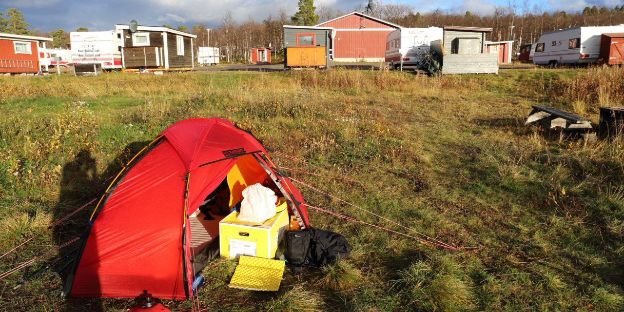 Dag 40-41: Camp Polcirkeln