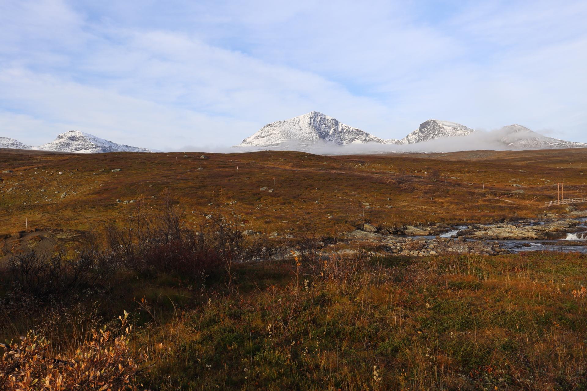 Morgondimman vid Norra Storfjället