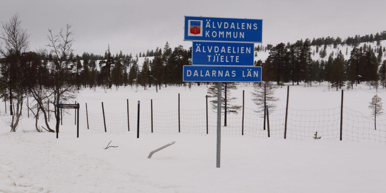 Dag 96: Vandrat genom Norrland – check