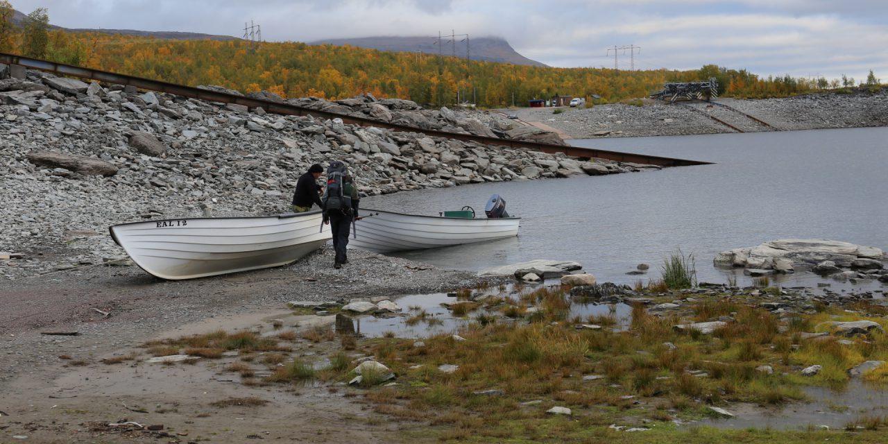 Dag 24: Båtfärden över Akkajaure