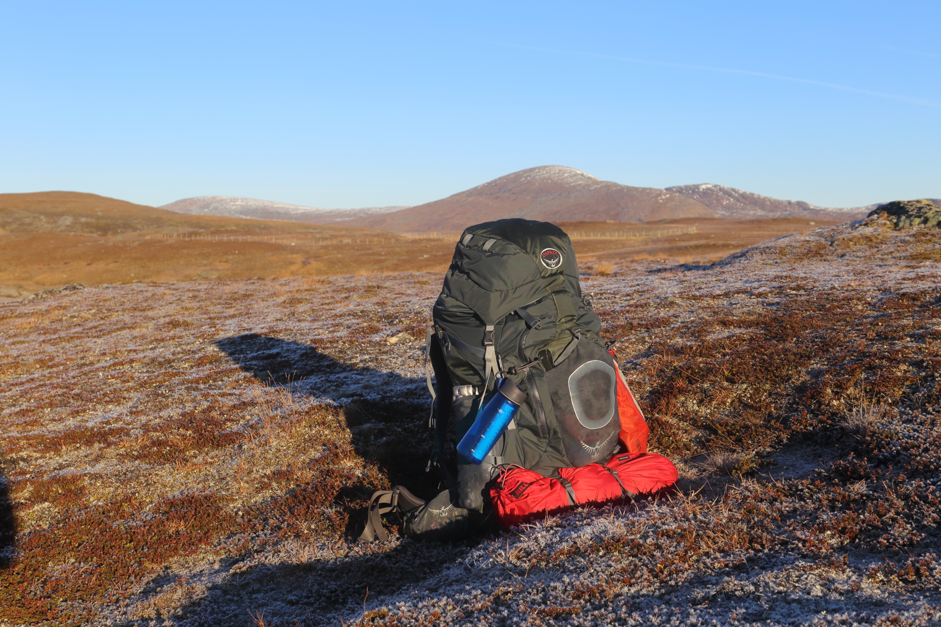 Packlista för fjällvandring med tält