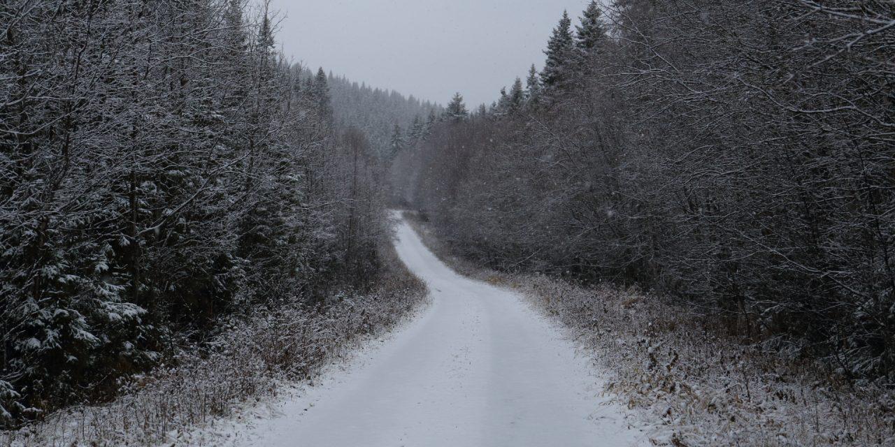 Dag 73: Den långa vita vägen söder om Juvuln