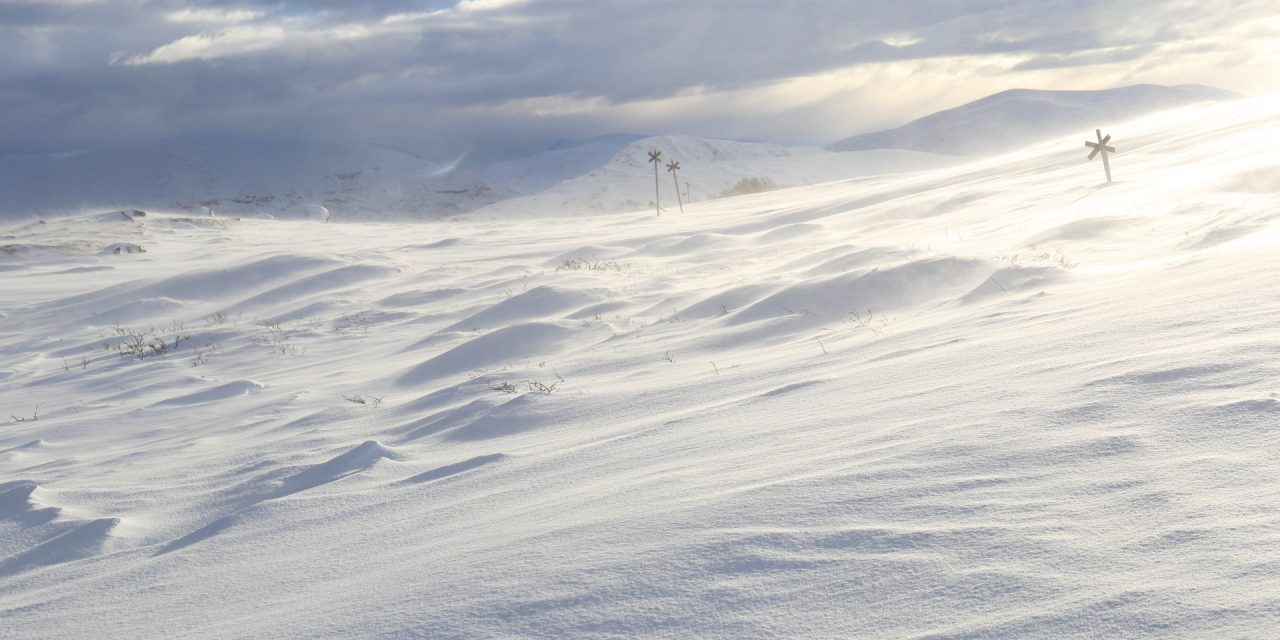 Dag 84: Snön vid foten av Smällhögarna del 2