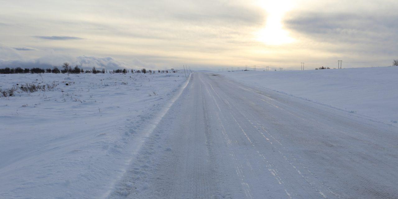 Dag 89: En vandring längs Sveriges högst belägna väg